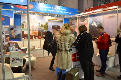 Company stand HL HUTTERER & LECHNER GmbH on trade show BUDMA 2017