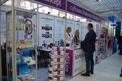Company stand KONCEPT Sp. z o.o. on trade show RemaDays Warsaw 2017