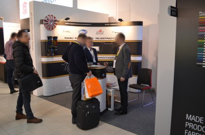 Company stand GÓRECKI Sp.j. on trade show RemaDays Warsaw 2017