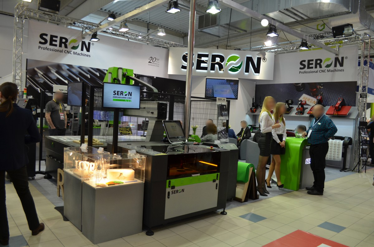 Company stand SERON on trade show RemaDays Warsaw 2017