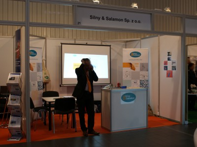 Company stand SILNY & SALAMON Sp. z o.o. on trade show Trans Poland 2013