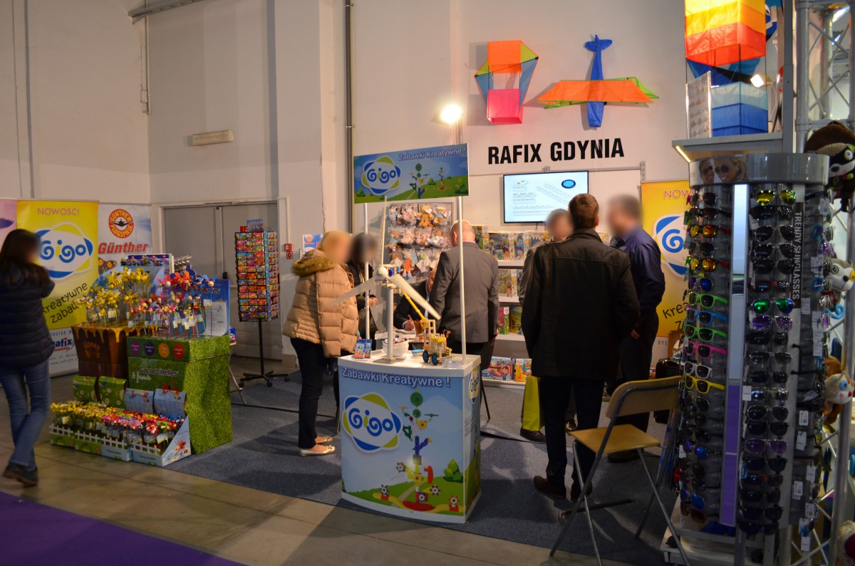 Company stand RAFIX on trade show KIDS' TIME 2017