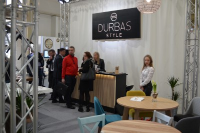 Company stand Durbas - Style on trade show MEBLE POLSKA 2017