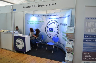 Company stand ISSA Poland on trade show Wiatr i Woda 2017