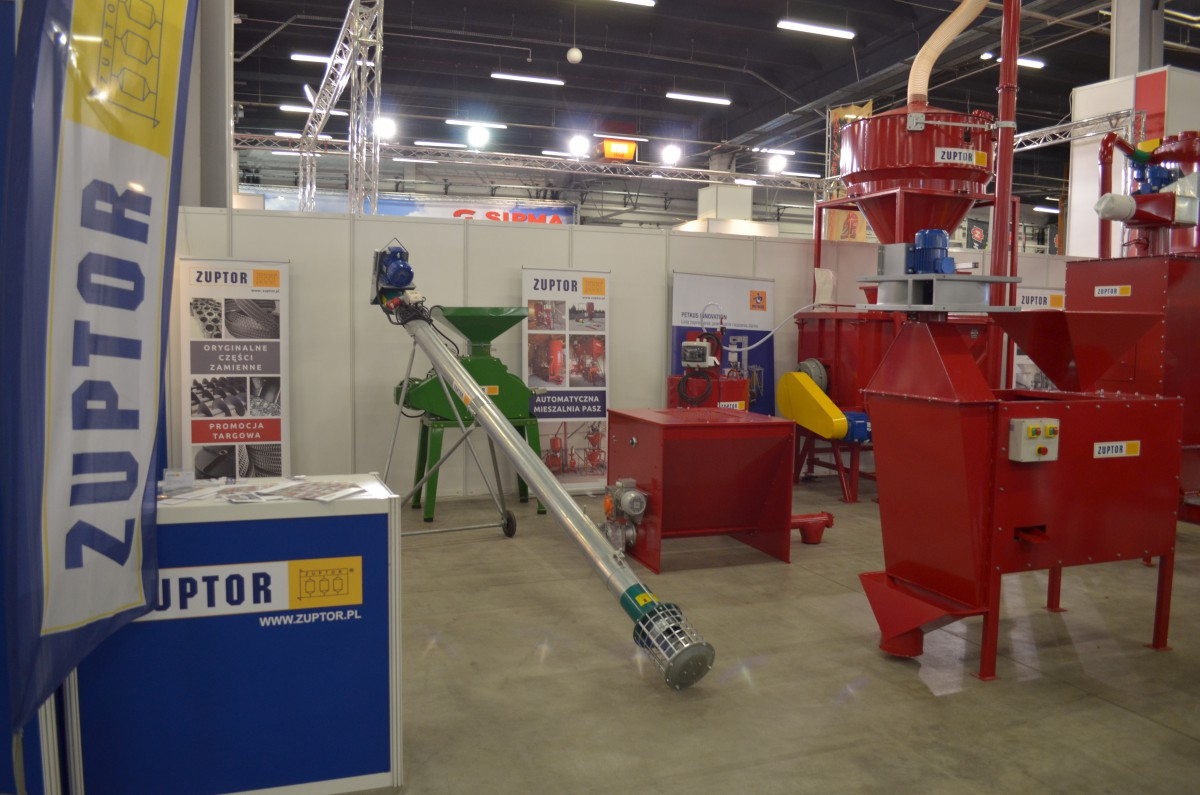 Company stand ZUPTOR Sp. z o.o. on trade show AGROTECH & LAS-EXPO 2017