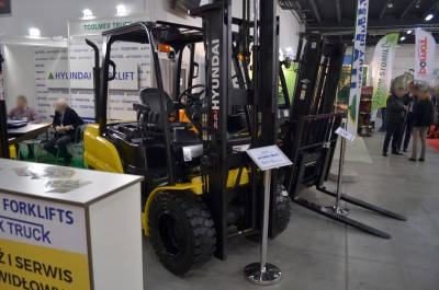 Company stand TOOLMEX TRUCK Sp. z o.o. on trade show AGROTECH & LAS-EXPO 2017