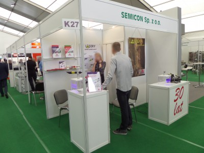 Company stand SEMICON Sp. z o.o. on trade show AGROTECH & LAS-EXPO 2017