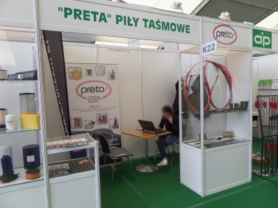 Company stand PRETA on trade show AGROTECH & LAS-EXPO 2017
