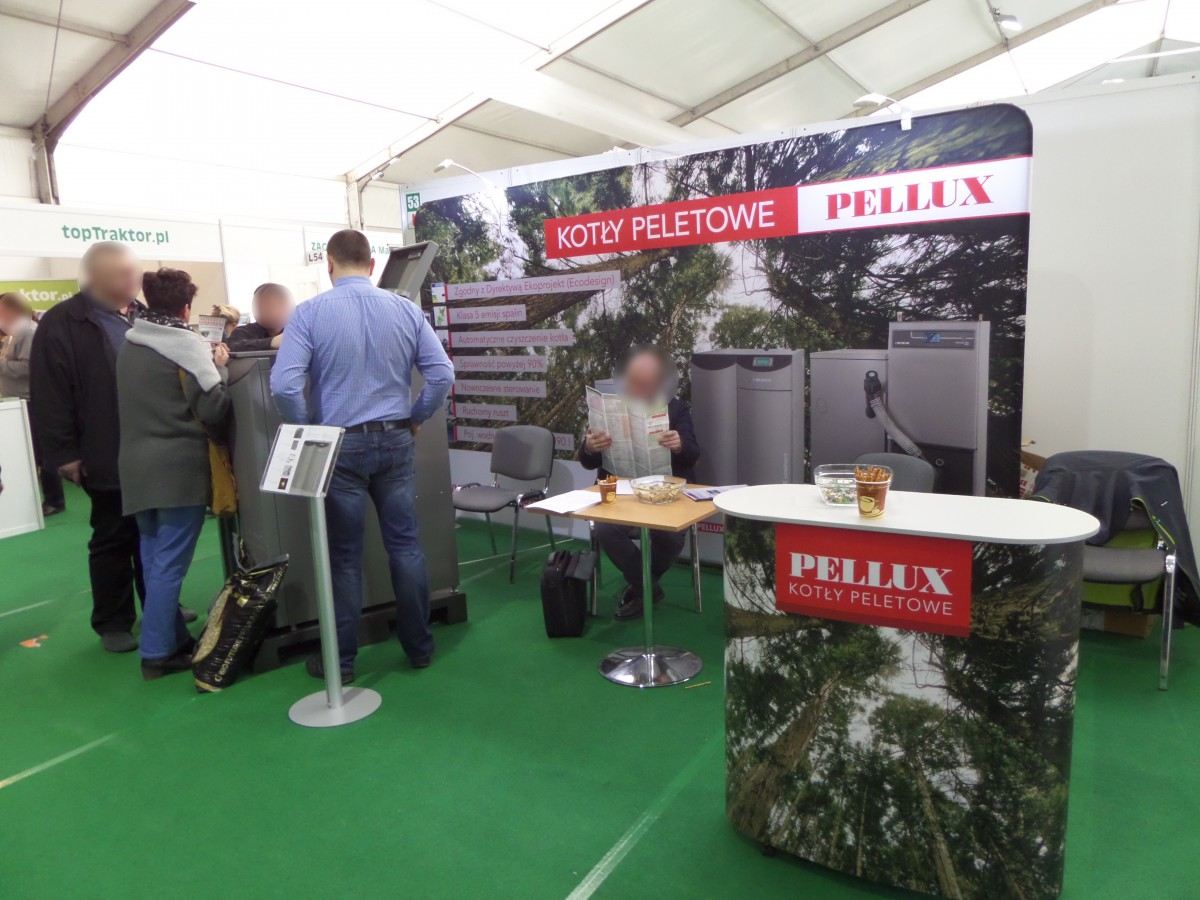 Company stand NIBE-BIAWAR Sp. z o.o. on trade show AGROTECH & LAS-EXPO 2017