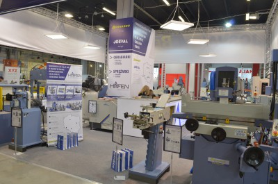 Company stand JOSVAL on trade show STOM-TOOL & STOM-BLECH & CUTTING & STOM-LASER & WIRTOPROCESY & SPAWALNICTWO 2017