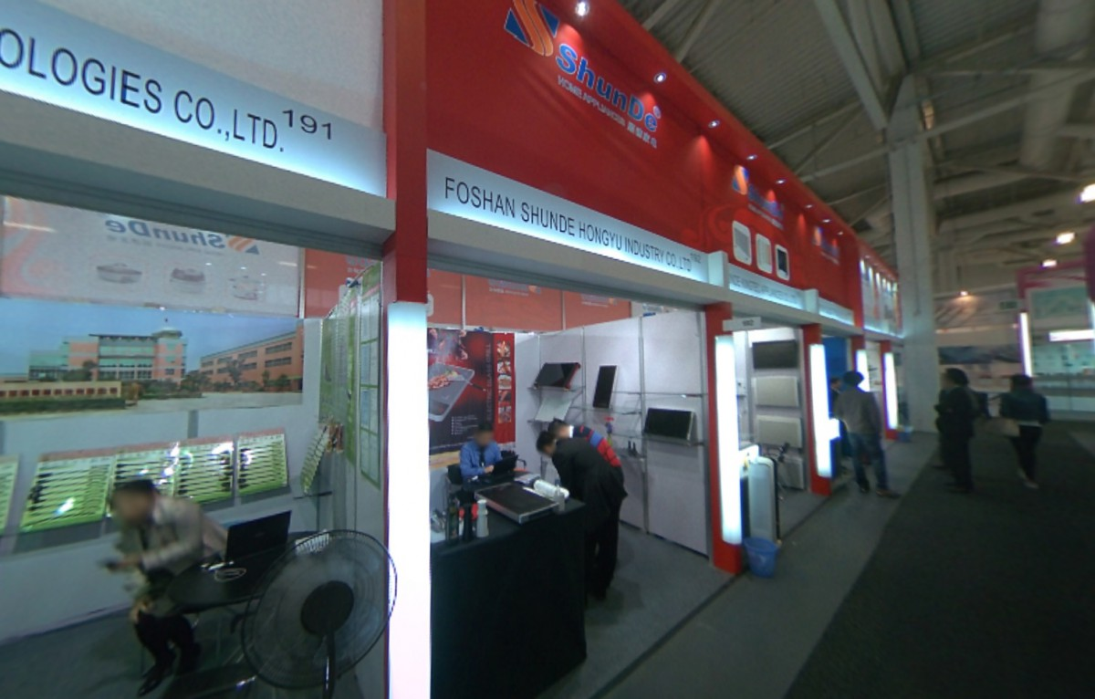 Company stand FOSHAN SHUNDE HONGYU INDUSTRY CO.,LTD. on trade show IFA BERLIN 2013