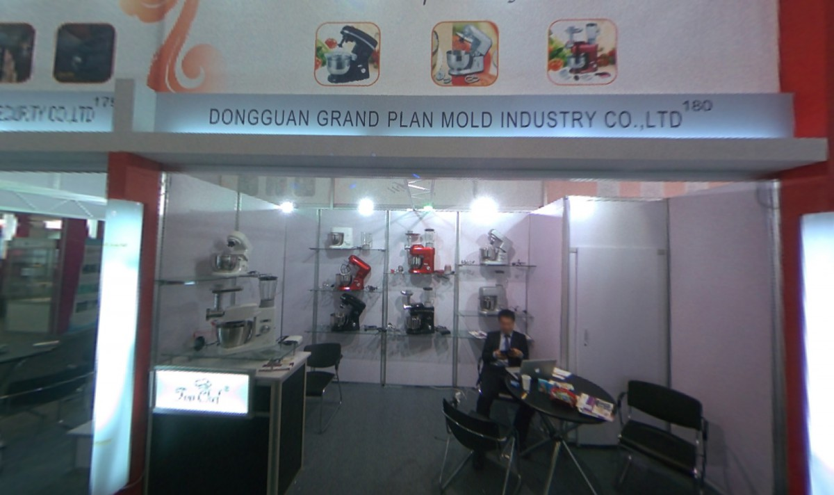 Company stand Dongguan Grand Plan Mold Industry Co. Ltd on trade show IFA BERLIN 2013