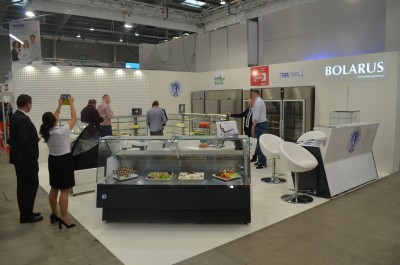 Company stand BOLARUS S.A. on trade show EUROGASTRO 2017