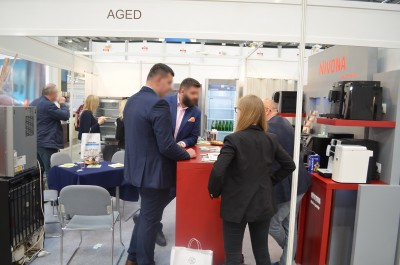 Company stand Fore. Living Solutions AGED Sp. z o.o. on trade show EUROGASTRO 2017