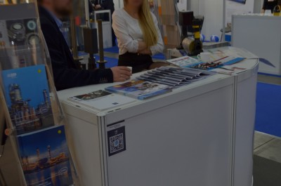 Stoisko firmy Automatic Systems Engineering Sp. z o.o. na targach EXPO-GAS 2017