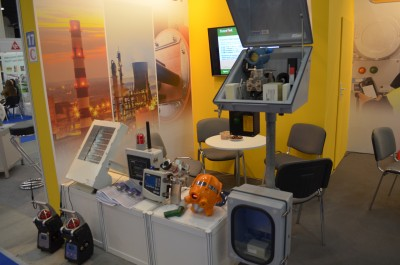 Company stand Automatic Systems Engineering Sp. z o.o. on trade show EXPO-GAS 2017