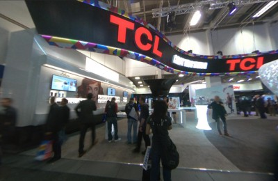 Company stand TCL Belgium on trade show IFA BERLIN 2013