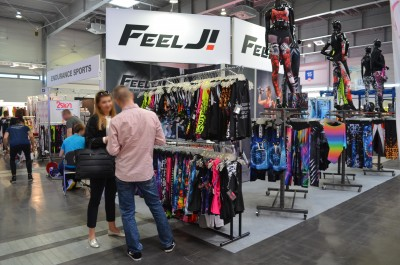 Company stand FEELJ! on trade show FIT-EXPO 2017