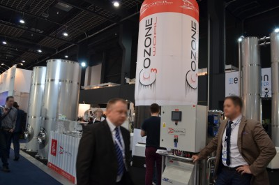 Company stand WOFIL OZONE TECHNOLOGY on trade show WOD-KAN 2017